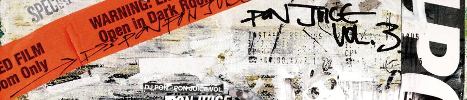 DJ PON / PON JUICE VOL.3 (CD-R / 2012)